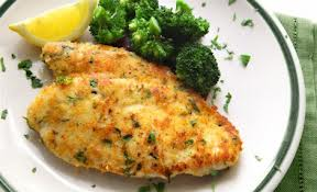 Garlic chicken with Parmesan