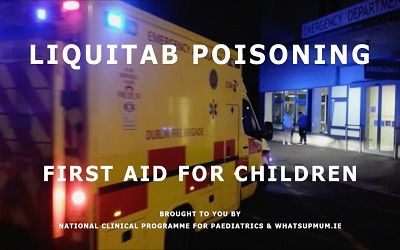 Child First Aid – Poisoning by Liquitab