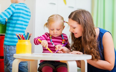 Things to consider when selecting childcare.