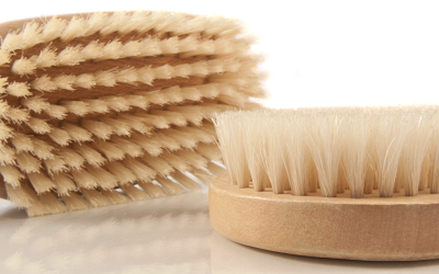 The Benefits of dry body brushing.
