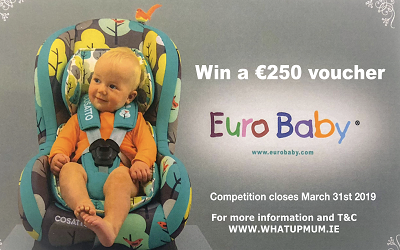 WIN a €250 Eurobaby Gift Voucher